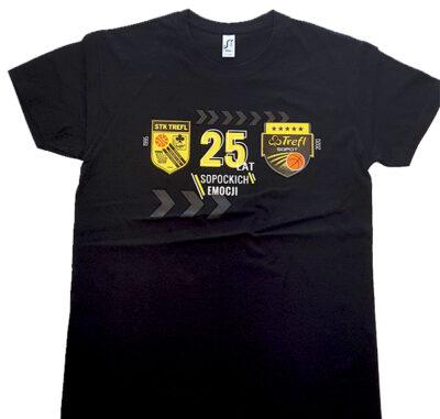 T-shirt 25 lat sopockiej koszykówki